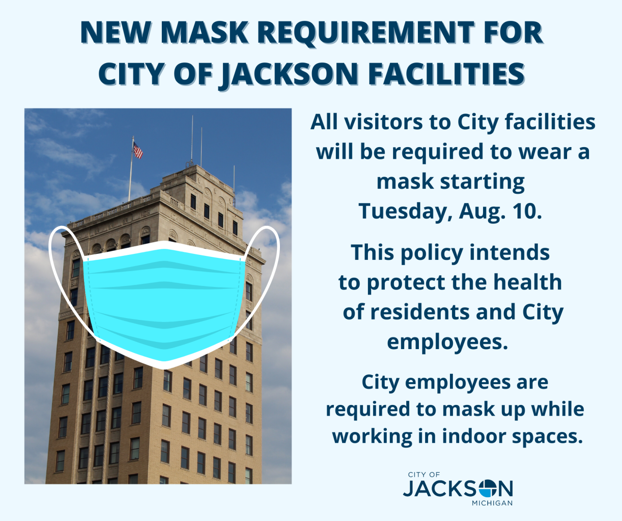 City of Jackson mask policy