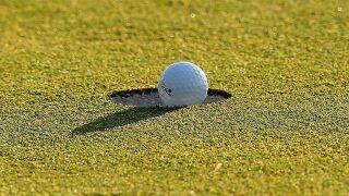 Generic golf ball golfing