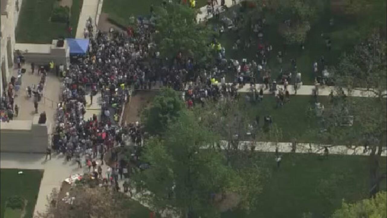 PHOTOS: Carrier rally; Bernie Sanders to appear