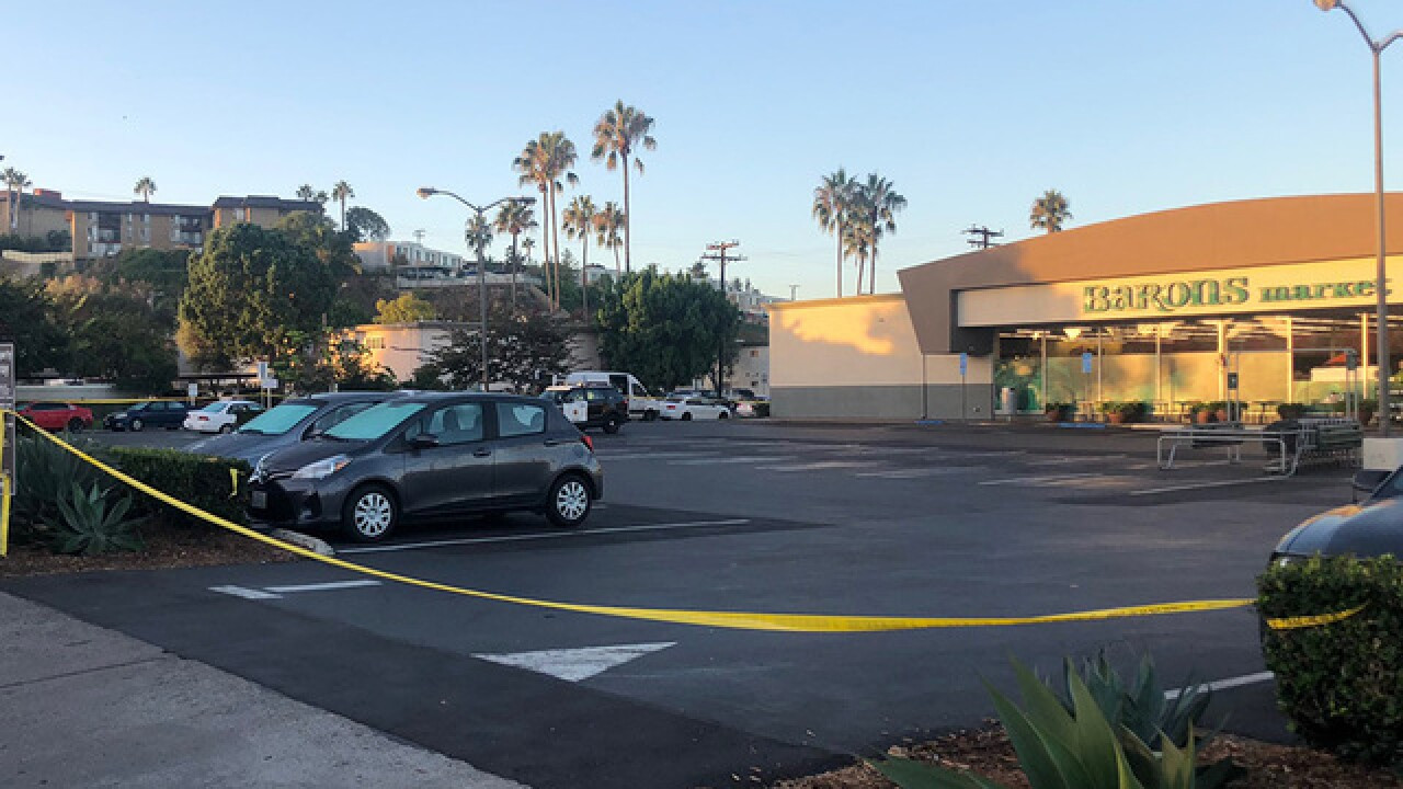 Woman shot, killed near Point Loma Barons Market