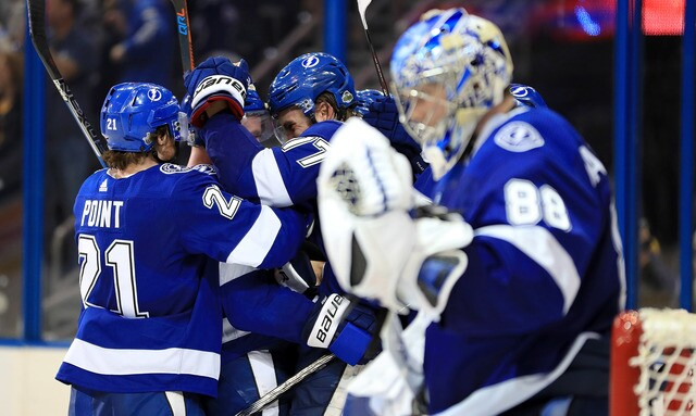 Photos: Tampa Bay Lightning beat Bruins 3-1 in Game 5