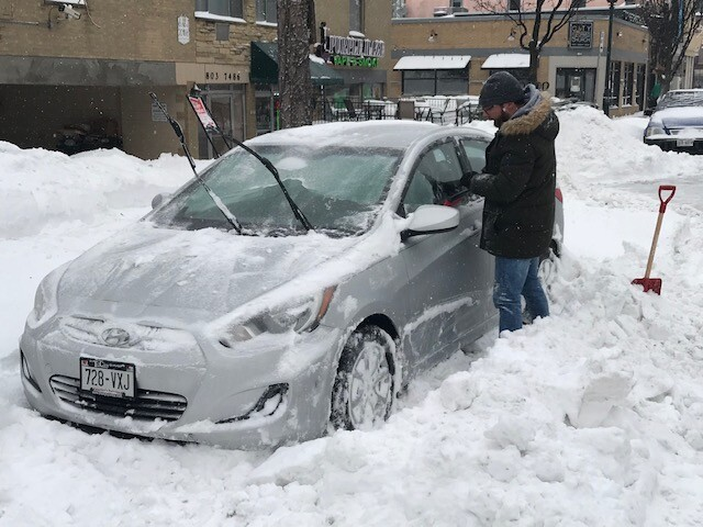 Milwaukee residents continue to dig out, prepare for bitter cold.