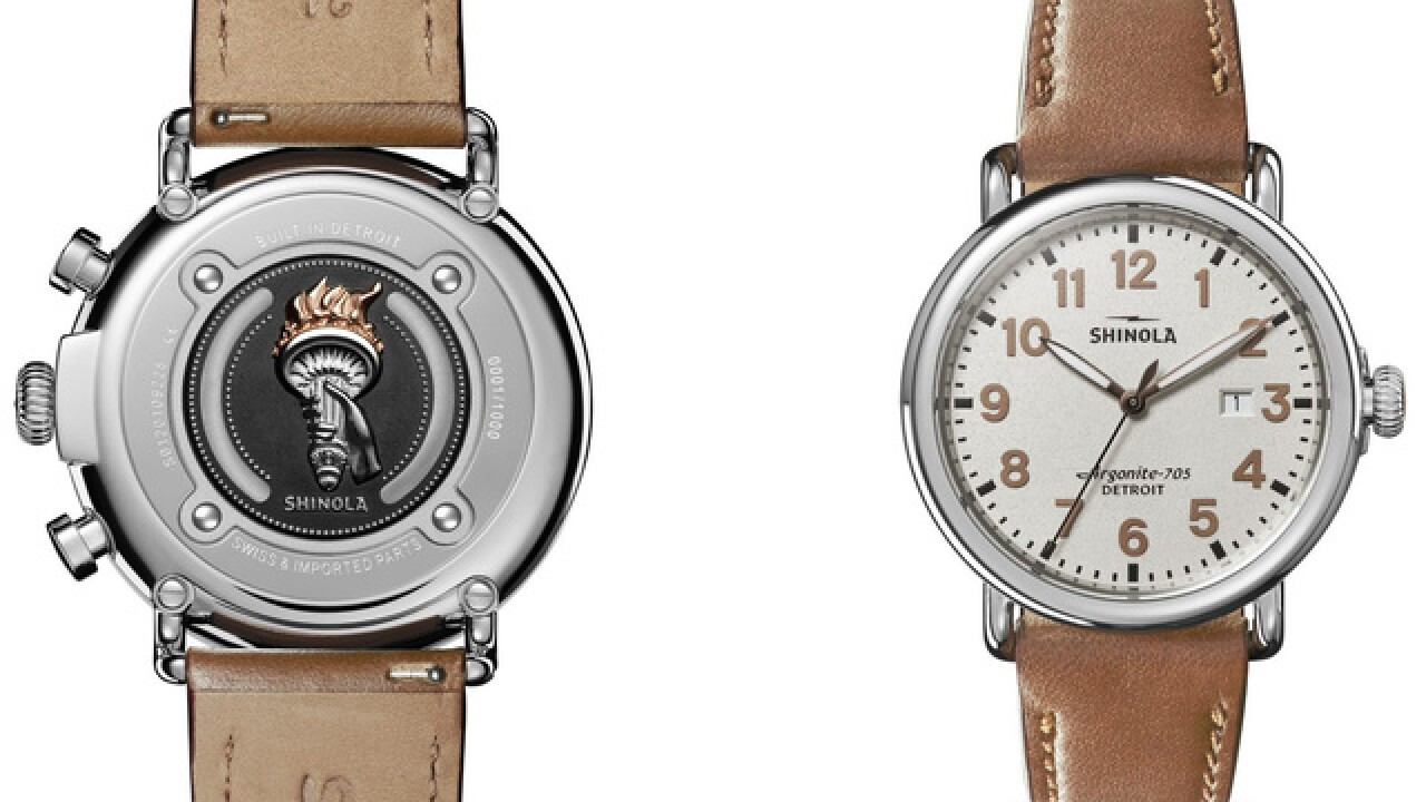 Shinola 'Statue of Liberty' timepiece celebrates immigrants' efforts to become US citizens