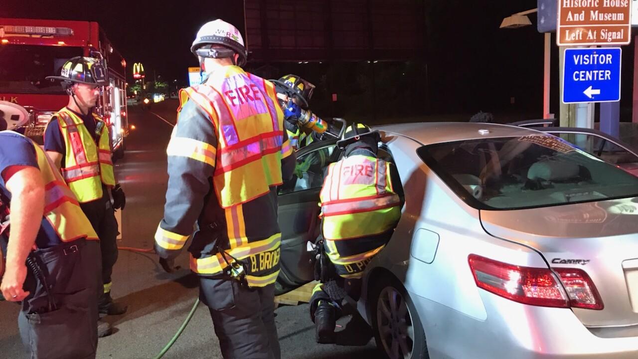 SU 600 N. Main Street crash (September 14)