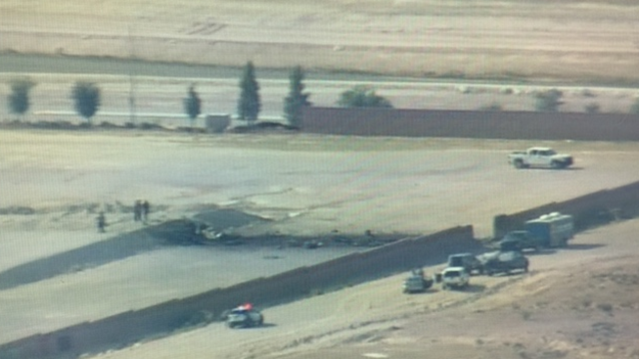 Military plane may have crashed in Vegas valley