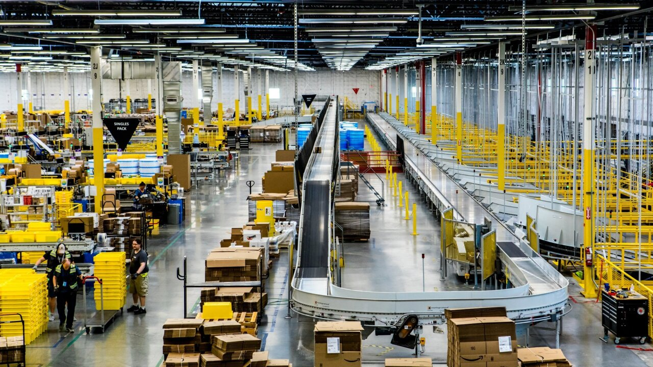 Amazon buys 87 acres of land in southeastern Virginia