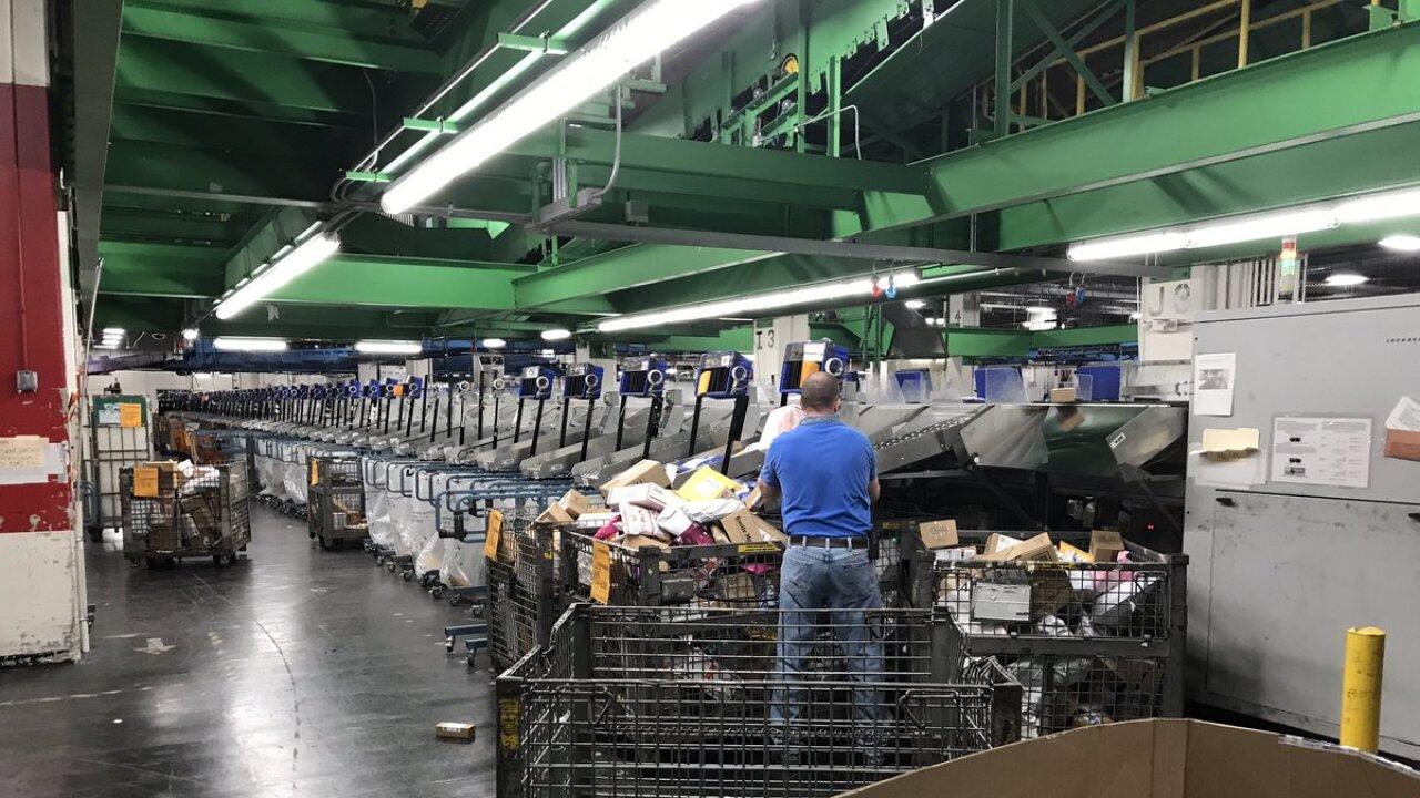 KCMO USPS/postal service distribution center