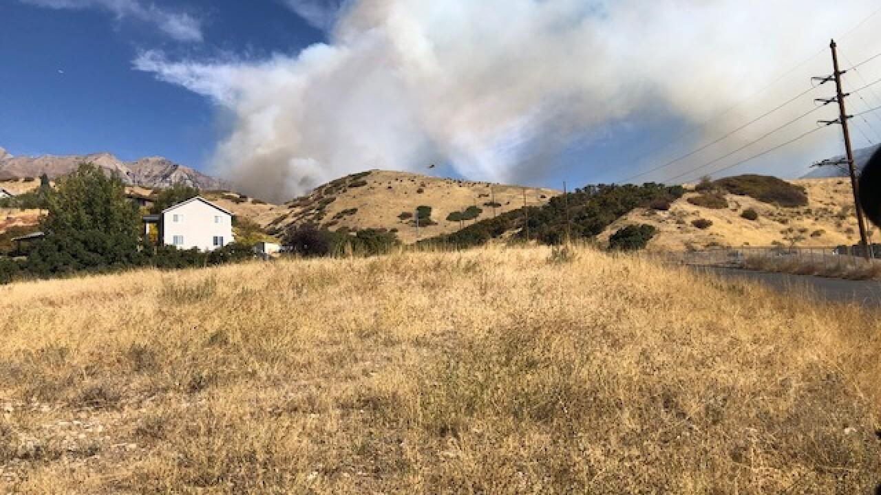 1017 Provo Canyon Fire