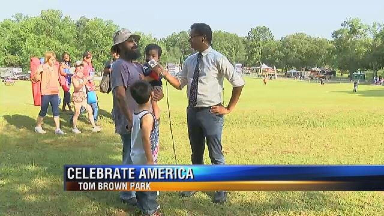 """""""Celebrate America"""" celebration kicks off at Tom Brown Park"""