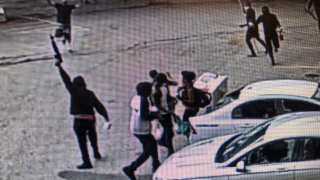 Justice Center damage guns stolen surveillance video