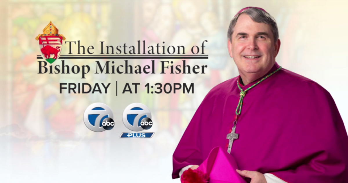 Michael William Fisher to be installed at Bishop of Buffalo Diocese on Friday; how you can watch