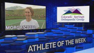 KOAA Athlete of the Week: Morgan Hall, Cheyenne Mountain Tennis