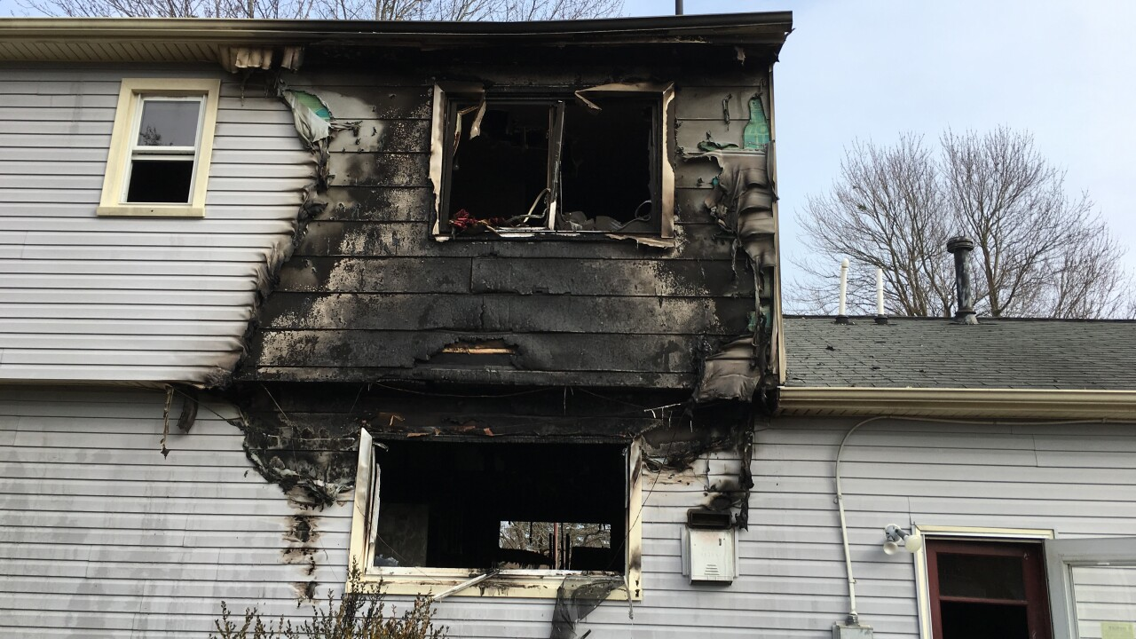 Hampton home destroyed by fire