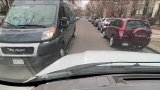 Passing on narrow side streets