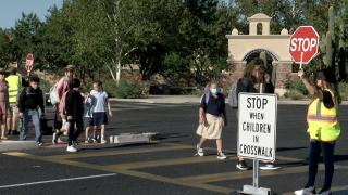 Anza Trail School crosswalk