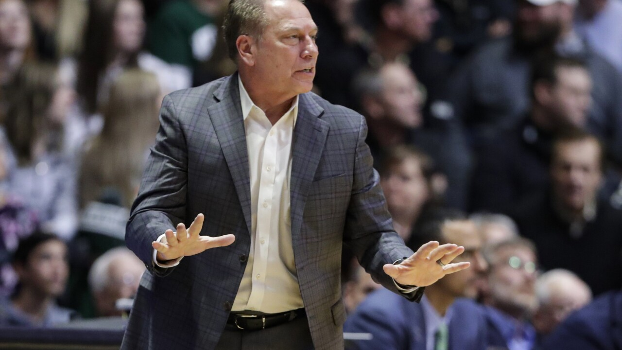 Michigan State announces Tom Izzo tests positive for COVID-19