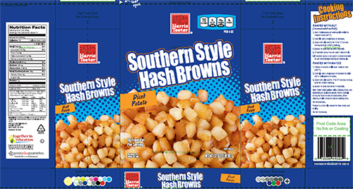 Photos: Harris Teeter hash browns recalled for possible contamination with golfballs