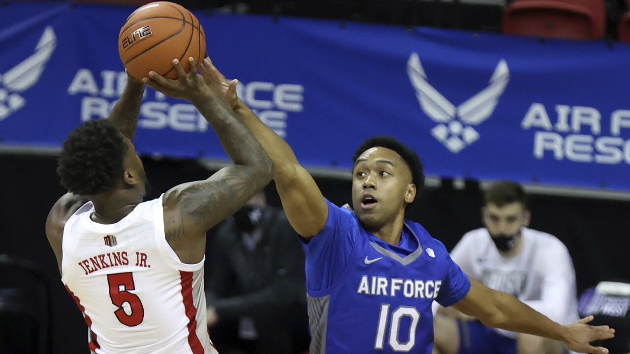 UNLV blows out Air Force in Mountain West Conference tournament