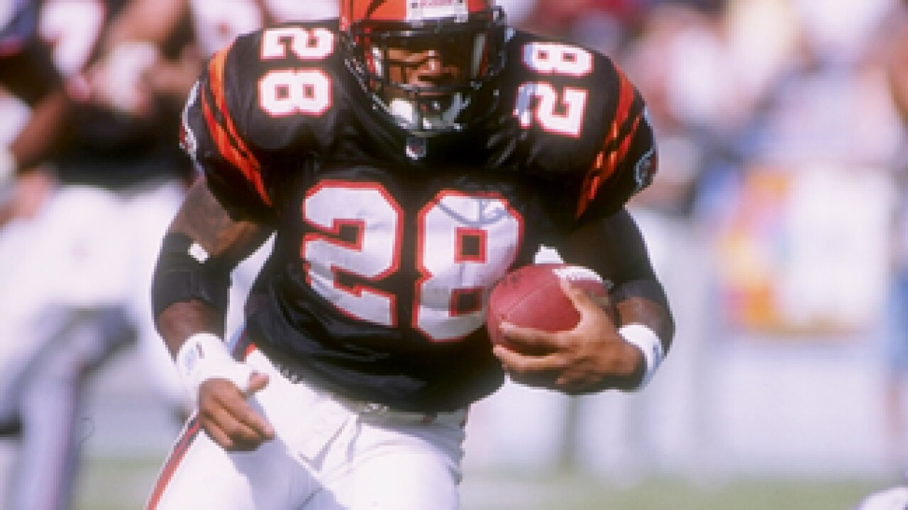 Sports Vault: Rookie Corey Dillon gave us a rush