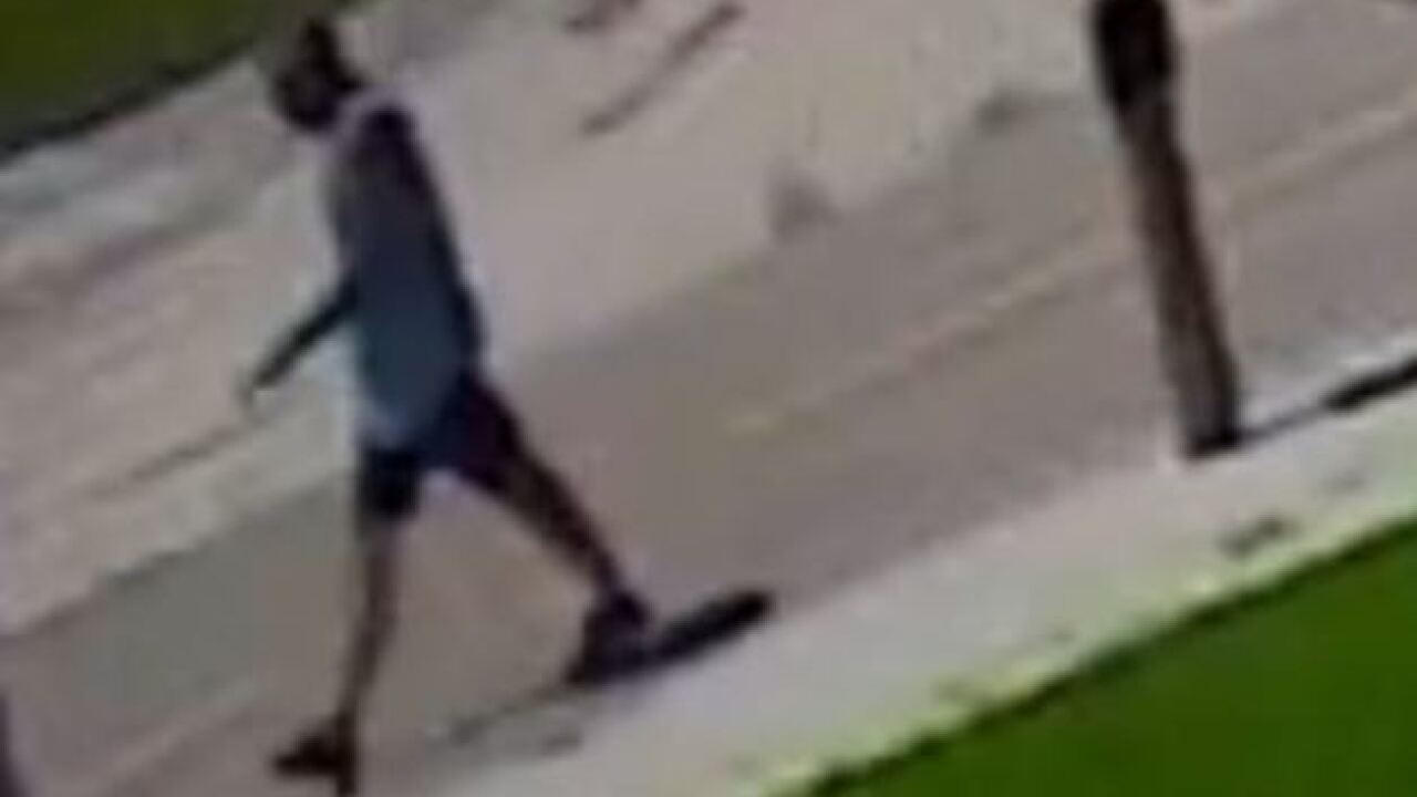Suspect sought for throwing man off bicycle