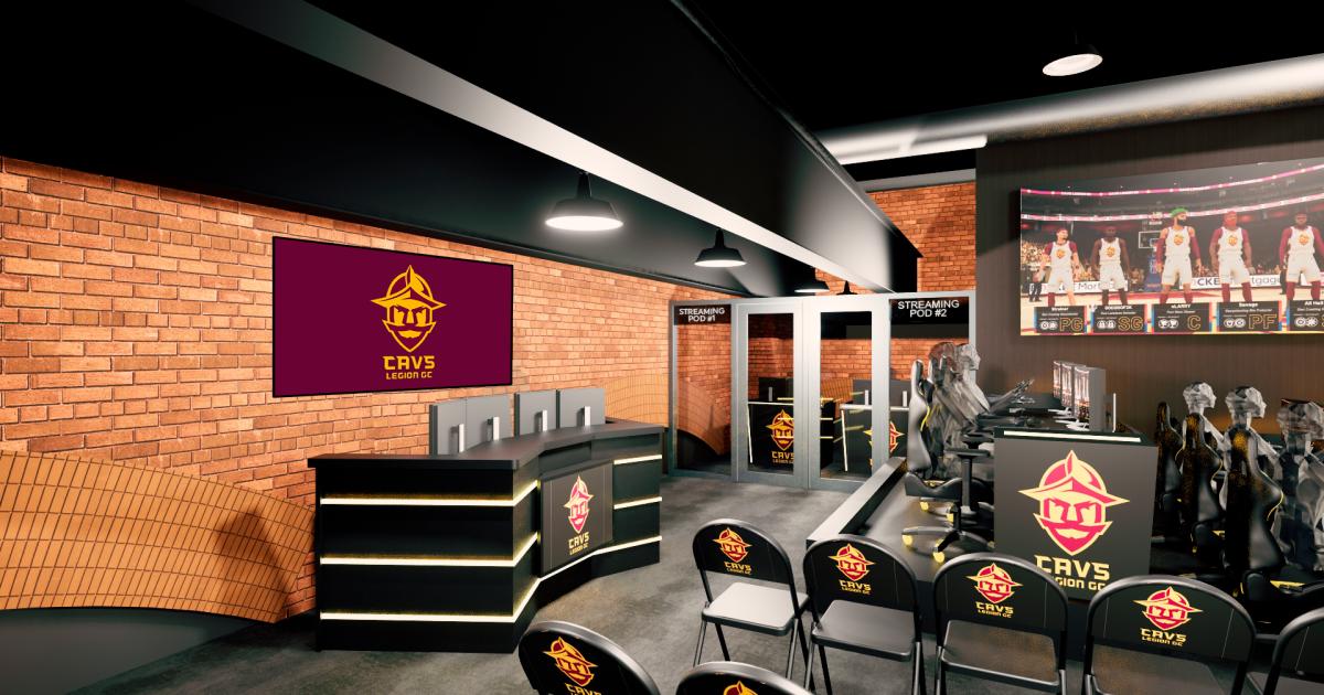 Cavs Legion Gaming Club opening Esports Center