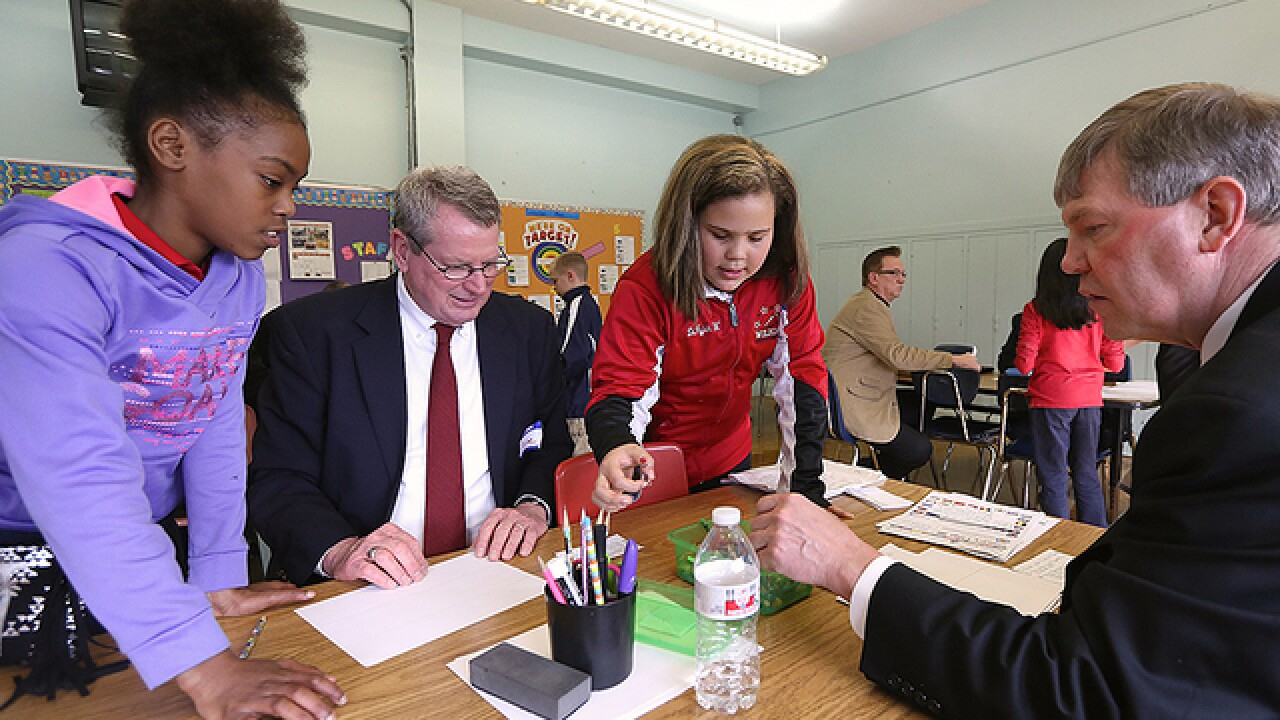 See how Newport schools help tackle poverty