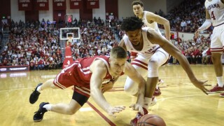 APTOPIX Wisconsin Indiana Basketball