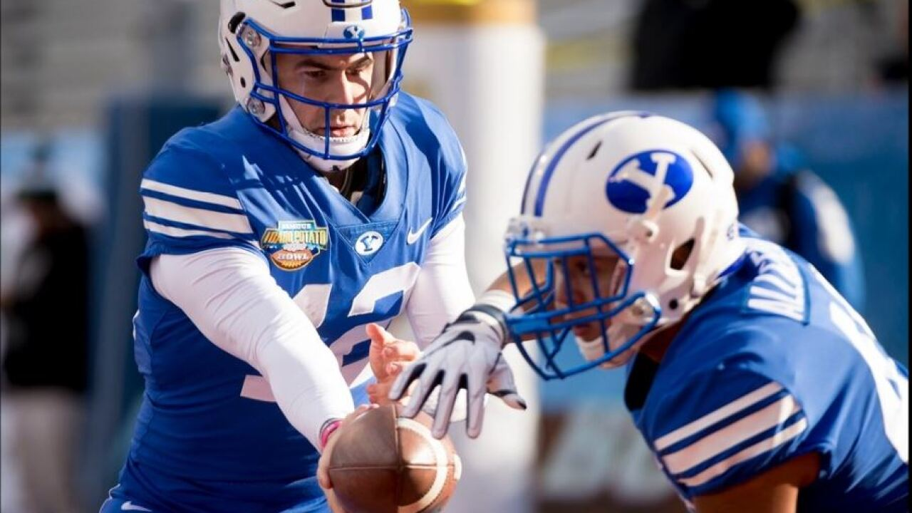 BYU rolls over Western Michigan 49-18 in the Famous Idaho Potato Bowl