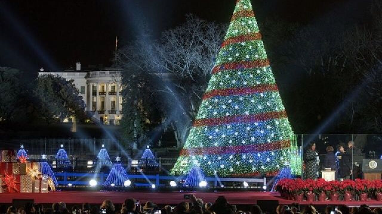 National Christmas Tree Lighting.Lottery For Tickets To National Christmas Tree Lighting