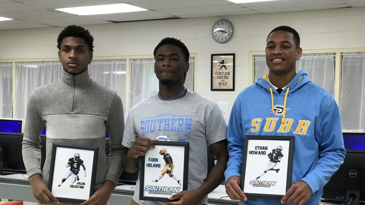 Celestine -Helaire - Howard (Cecilia High) signing day.jpg