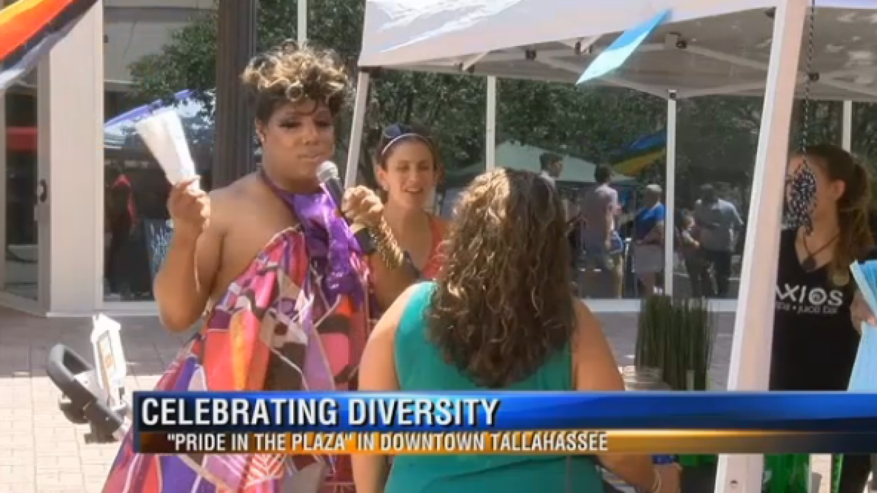 Tallahassee PRIDEFEST Takes over Kleman Plaza