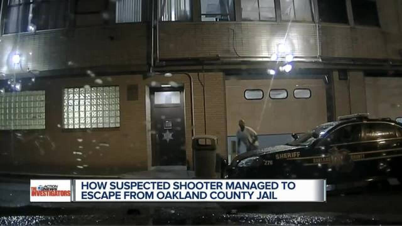 Oakland Co. responds to video of suspect escape