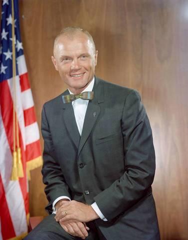 Astronaut John Glenn through the years