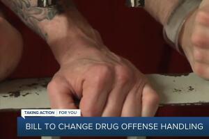 Bill to change drug offense handling