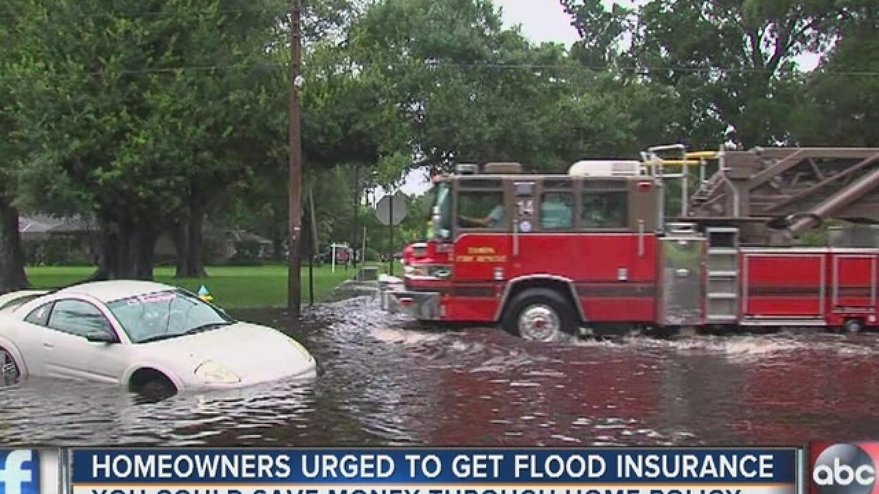 Rain predictions prompt flood insurance warnings