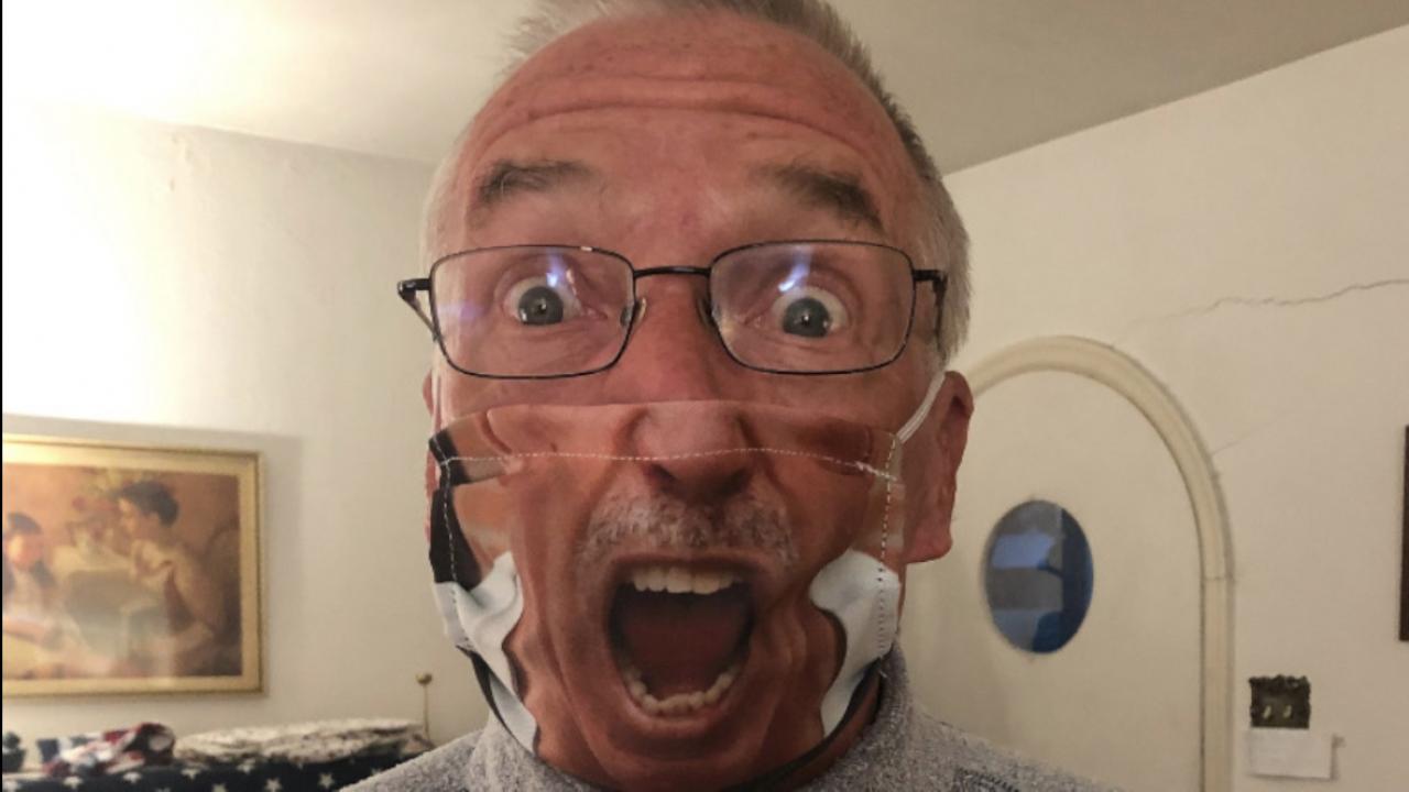 Bob Green face mask