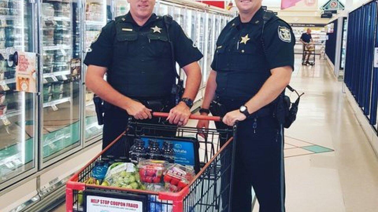 Deputies make grocery run for sick woman in Florida