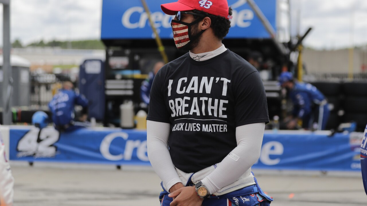 Bubba Wallace joins Michael Jordan's NASCAR team