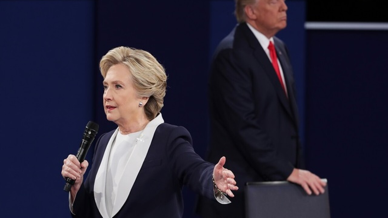 POLL: Who won Sunday's presidential debate?