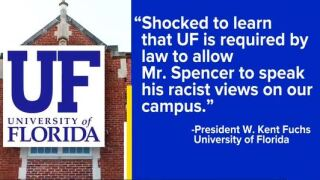 University of Florida can't stop speech