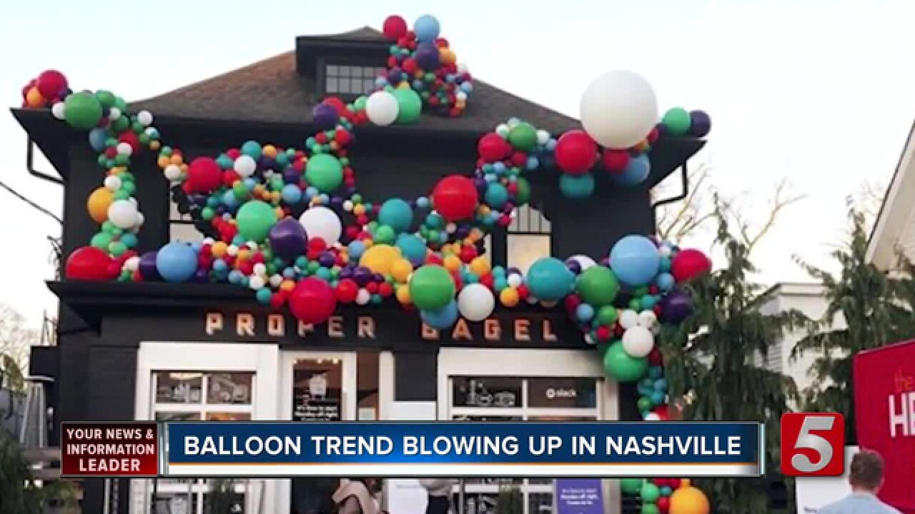 Nashville's Vroom Vroom Balloon Bar Has People Pumped