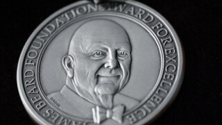 James Beard Award silver