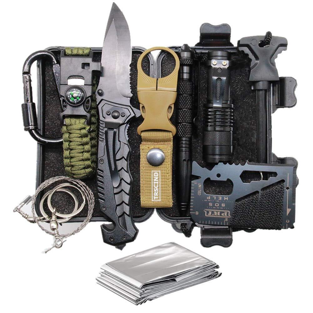 11-in-1 Survival Gear Kits with Paracord Bracelet, Multi-Purpose EDC Emergency Tools and Everyday Carry Gear, Official Survival Kit.jpg