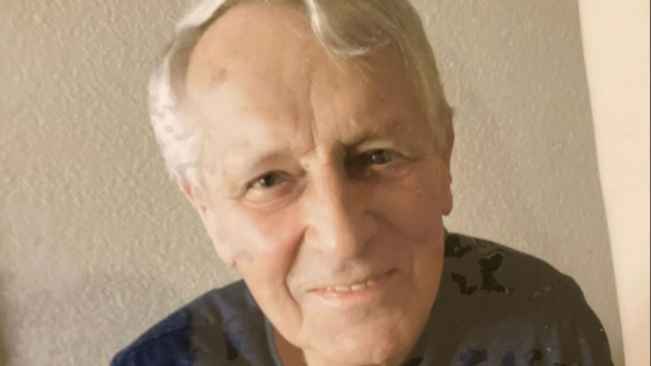 According to the Pima County Sheriff's Department, Peter Teubner was last seen at 6:30 a.m. Tuesday on foot in the 3700 block of North Swan Road. Photo via PCSD. He was found safe in the 8 a.m. hour.