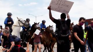 Austin George Floyd Protests