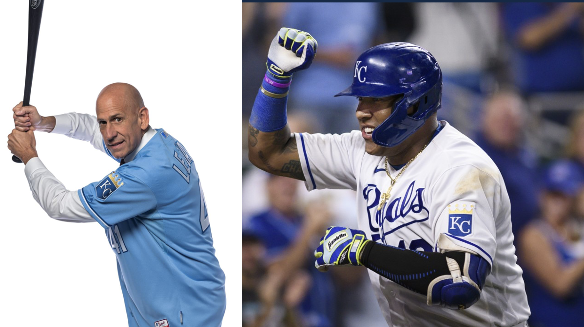 Salvador Perez Goes For His 45th Home Run Today At The K