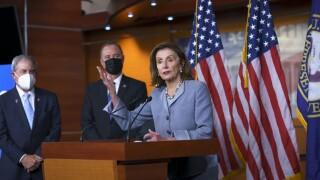 Nancy Pelosi, John Yarmuth, Adam Schiff