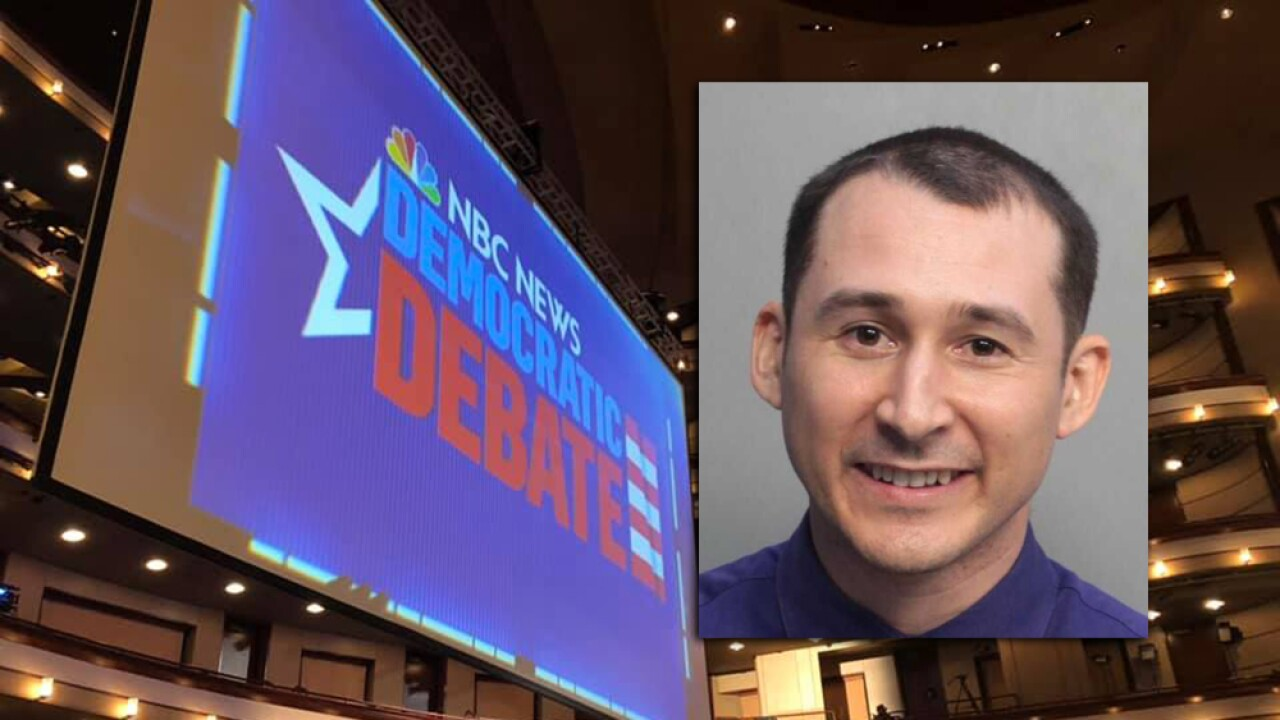 Man snuck onto stage at Democratic Presidential Debate while candidates were there, police say