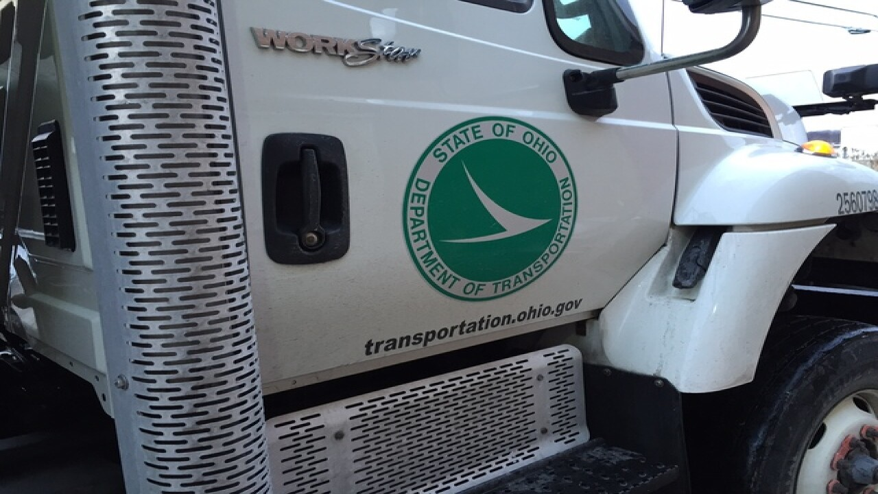 As snow falls, ODOT preps NE Ohio streets
