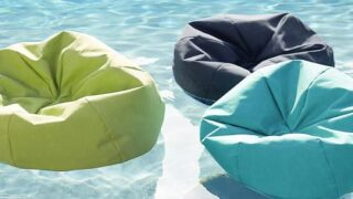 These Bean Bag Pool Floats Are Actually The Best Way To Relax This Summer